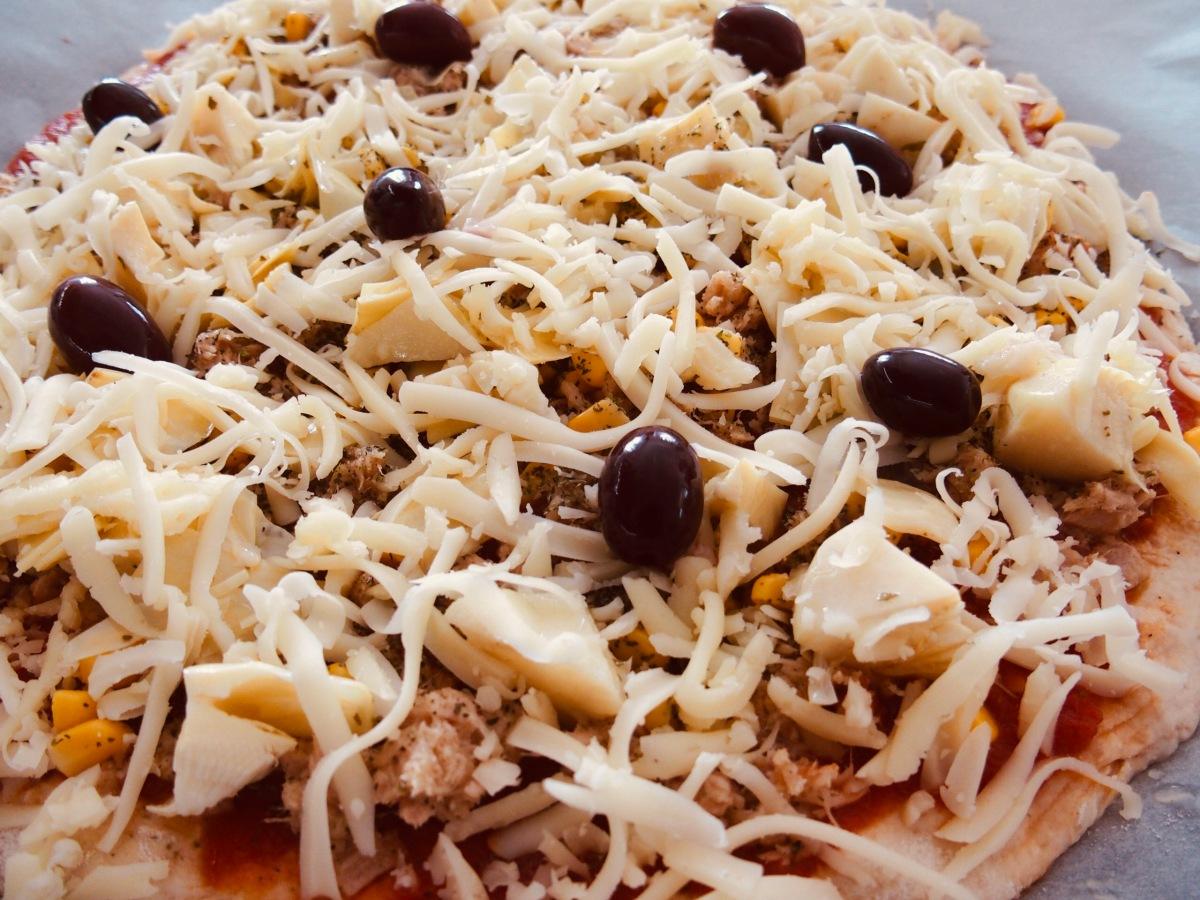 Dinkel-Pizza